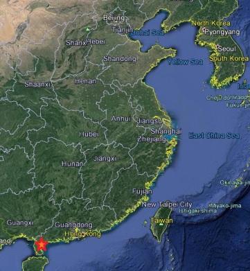 map-leizhou
