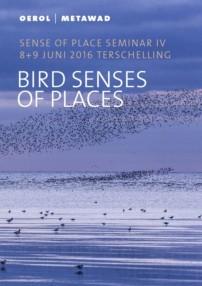 Omslag programma boekje Bird Senses of Places