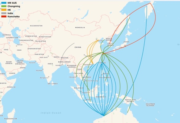 BLAG Map EAAF