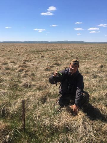 Drew Binru in Mongolia