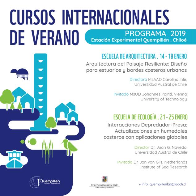 Graduate course_Quempillén Experimental Field Statio_FLYER_CursosVerano